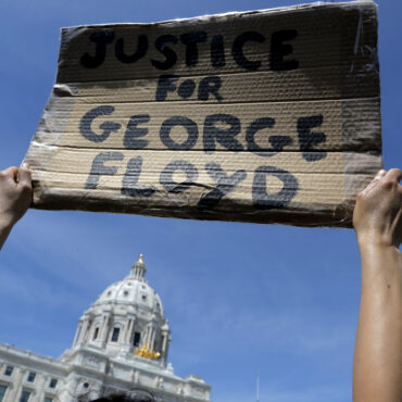 George Floyd Protest Pic