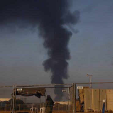 Gaza Cohetes Aereos