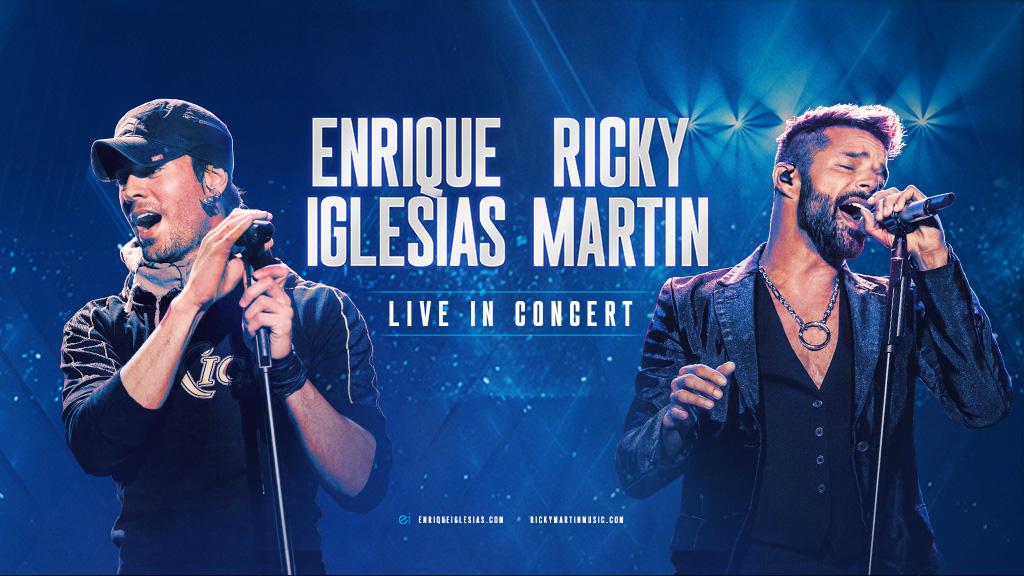 Maxima 104.1 te lleva al concierto de Enrique Iglesias y Ricky Martin